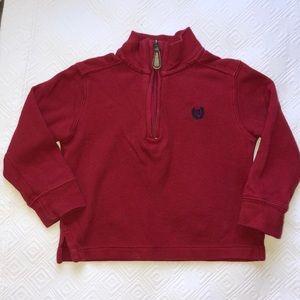 Boys Chaps 1/2 Zip Sweater
